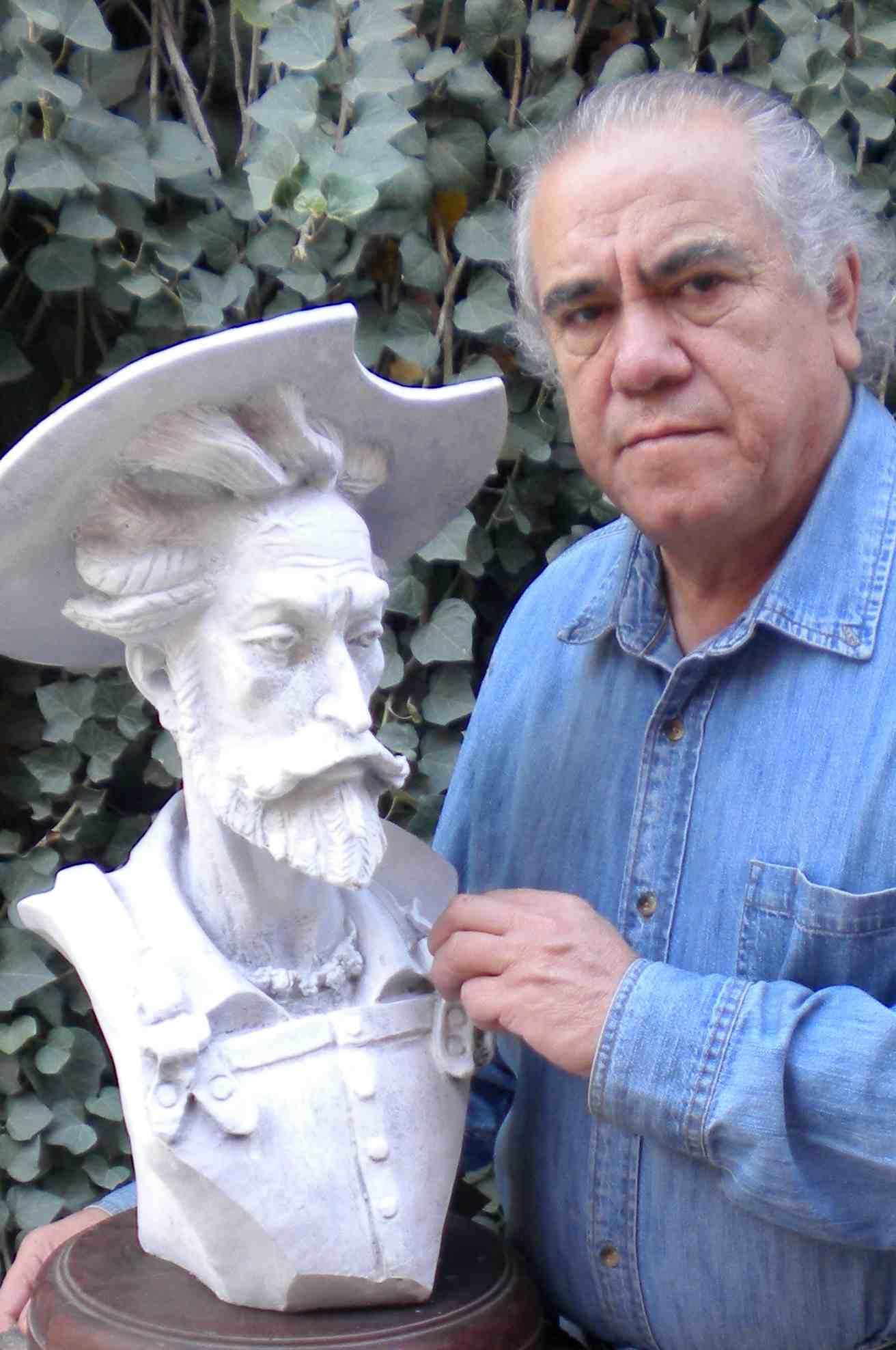 """OBRA DE CARLOS TERRES PARA  """"EL MUSEO HOTEL GENEVE"""" DE MEXICO D.F."""